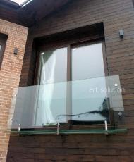 балкон стеклянный
