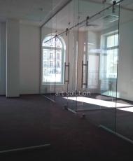 5 стеклянная перегородка в офис