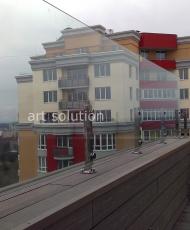 2 ограждение балкона из стекла