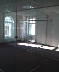 3 офисные стеклянные перегородки