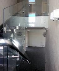 прозрачное ограждение стекло