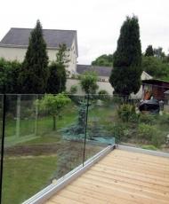 огражденеи балкона прозрачное