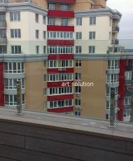 3 огражденеи балкона прозрачное