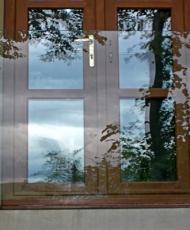 1 прозрачное ограждение для балкона