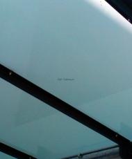 ламинированное стекло для козырька