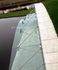 2 стеклянный козырек арочной формы