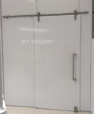 4 стеклянные панели для стен