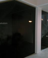 перегородки стеклянные на всю стену