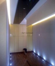 матовый потолок стеклянный