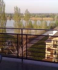 балконные перила бронзовые