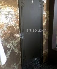 двери из бронзового стекла