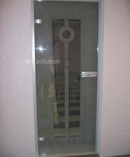 стеклянные двери интерьерные