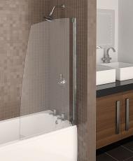 перегородка из стекла в ванной