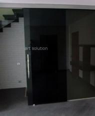 непрозрачные стеклянные двери