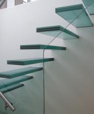 стеклянные ступени