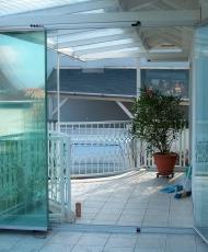 5 безрамное остекление на балконе