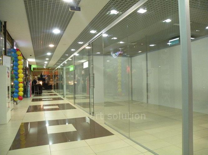 стеклянные перегородки