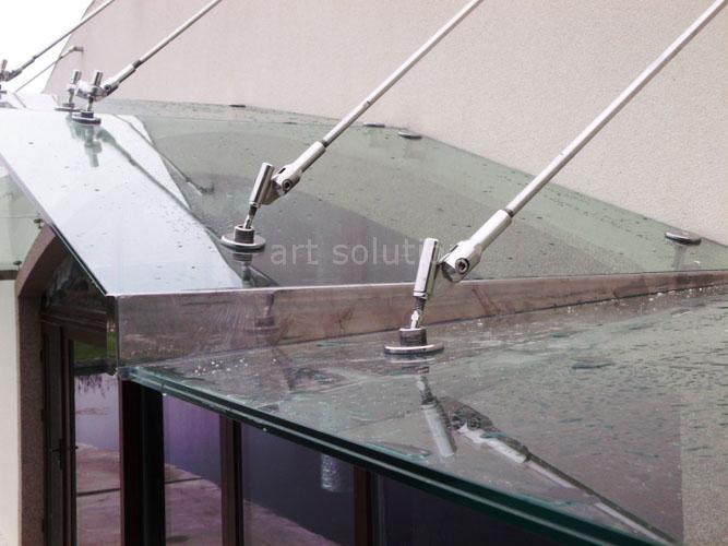 козырек из стекла (киев)