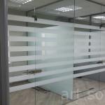 стеклянные перегородки в офис киев